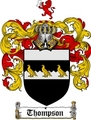 Thumbnail Thompson Family Crest / Thompson Coat of Arms
