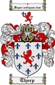 Thumbnail Thorp Family Crest  Thorp Coat of Arms