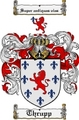 Thumbnail Thrupp Family Crest  Thrupp Coat of Arms