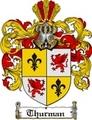 Thumbnail Thurman Family Crest  Thurman Coat of Arms