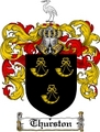 Thumbnail Thurston Family Crest  Thurston Coat of Arms