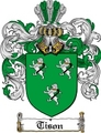 Thumbnail Tison Family Crest  Tison Coat of Arms