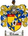 Thumbnail Tituss Family Crest  Tituss Coat of Arms
