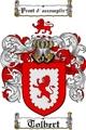 Thumbnail Tolbert Family Crest  Tolbert Coat of Arms