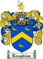 Thumbnail Tompkins Family Crest  Tompkins Coat of Arms