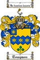 Thumbnail Tompson Family Crest  Tompson Coat of Arms