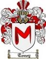 Thumbnail Toney Family Crest  Toney Coat of Arms