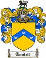 Thumbnail Tootell Family Crest  Tootell Coat of Arms
