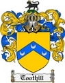 Thumbnail Toothill Family Crest  Toothill Coat of Arms