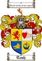 Thumbnail Tosh Family Crest  Tosh Coat of Arms