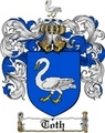 Thumbnail Toth Family Crest  Toth Coat of Arms