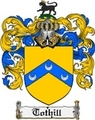 Thumbnail Tothill Family Crest  Tothill Coat of Arms