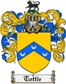 Thumbnail Tottle Family Crest  Tottle Coat of Arms