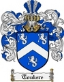 Thumbnail Toukere Family Crest  Toukere Coat of Arms