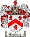 Thumbnail Tounsley Family Crest  Tounsley Coat of Arms