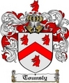 Thumbnail Tounsly Family Crest  Tounsly Coat of Arms