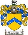 Thumbnail Toutehill Family Crest  Toutehill Coat of Arms