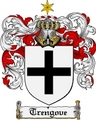 Thumbnail Trengove Family Crest  Trengove Coat of Arms
