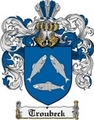 Thumbnail Troubeck Family Crest  Troubeck Coat of Arms