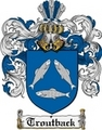 Thumbnail Troutback Family Crest  Troutback Coat of Arms