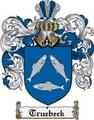 Thumbnail Truebeck Family Crest  Truebeck Coat of Arms