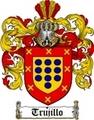 Thumbnail Trujillo Family Crest  Trujillo Coat of Arms