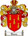 Thumbnail Turre Family Crest  Turre Coat of Arms