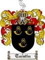 Thumbnail Turstin Family Crest  Turstin Coat of Arms