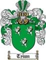Thumbnail Tyson Family Crest  Tyson Coat of Arms