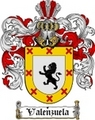 Thumbnail Valenzuela Family Crest  Valenzuela Coat of Arms