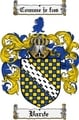 Thumbnail Varde Family Crest  Varde Coat of Arms