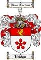 Thumbnail Veldon Family Crest  Veldon Coat of Arms
