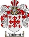 Thumbnail Villarreal Family Crest  Villarreal Coat of Arms