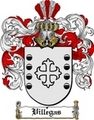 Thumbnail Villegas Family Crest  Villegas Coat of Arms