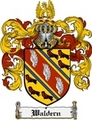 Thumbnail Waldern Family Crest  Waldern Coat of Arms