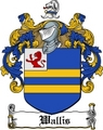 Thumbnail Wallis Family Crest  Wallis Coat of Arms