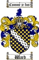 Thumbnail Ward Family Crest / Ward Coat of Arms