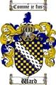 Thumbnail Ward Family Crest / Ward Coat of Arms