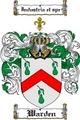 Thumbnail Warden Family Crest  Warden Coat of Arms