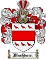 Thumbnail Washborn Family Crest  Washborn Coat of Arms