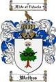 Thumbnail Wathes Family Crest  Wathes Coat of Arms