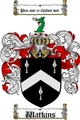 Thumbnail Watkins Family Crest / Watkins Coat of Arms