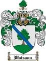 Thumbnail Watsoun Family Crest  Watsoun Coat of Arms