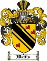 Thumbnail Wattis Family Crest  Wattis Coat of Arms