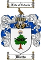 Thumbnail Watts Family Crest  Watts Coat of Arms