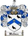 Thumbnail Wattson Family Crest  Wattson Coat of Arms