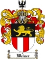 Thumbnail Weiner Family Crest  Weiner Coat of Arms