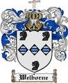Thumbnail Welborne Family Crest  Welborne Coat of Arms