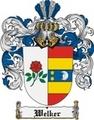 Thumbnail Welker Family Crest  Welker Coat of Arms