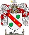 Thumbnail Wellman Family Crest  Wellman Coat of Arms